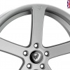 Cades Apollo Alloy Wheels 19 inch 5x100 (ET35) | Silver crest x 4 | fits VW models