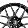 Cades Bern Accent Alloy Wheels 18 inch 5x120 (ET35) | Black Accent x 4 | fits BMW models