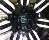 (Single) Black Genuine Land Rover Alloy Wheel Nut refinished by HAWKE