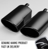 HAWKE Black Chrome Supercharged Exhaust Tips for Range Rover Sport 2005-2009 Supercharged Cars Only