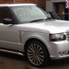 HAWKE Chayton Alloy Wheels 20 inch 5x120 (ET48) | Gunmetal  Polish x 4 | fits Range Rover Sport, Vogue and Discovery models