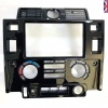 HAWKE Gloss Black Centre Console Dash Facia Double Din fits Defender 90 110