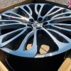 (EX DISPLAY) HAWKE Halcyon Wheels 22 inch 5x120 (ET40) | Gunmetal  Polish x 4 | fits Range Rover Sport, Vogue and Discovery models