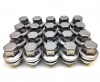(Set of 20) Genuine Land Rover Alloy Wheel Nuts 2005 to date