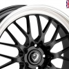 Cades Tyrus Alloy Wheels 19 inch 5x112 (ET45) | Black lip Polish x 4 | fits VW, Audi and Mercedes models