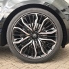 HAWKE Vega Alloy Wheels 22 inch 5x120 (ET35) | Black Polish x 4 | fits Range Rover Sport, Vogue and Discovery models