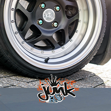 Junk Alloy Wheels