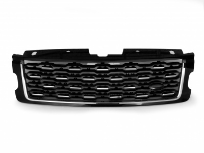 L405 SV-A SVA Look Front Grille Black with Black mesh and Chrome trim to fit Range Rover Vogue L405 2018 Onwards