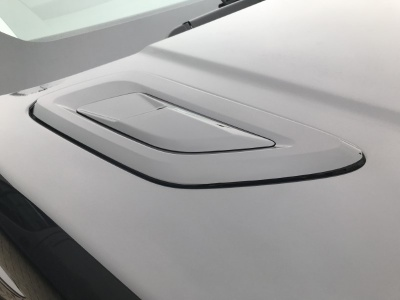 2018 Look Range Rover Sport L494 Bonnet Vents Gloss black