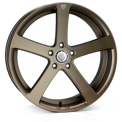 Cades Apollo Alloy Wheels 19 inch 5x112 (ET40) | Matt Bronze crest x 4 | fits VW, Audi and Mercedes models