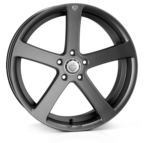 Cades Apollo Alloy Wheels 19 inch 5x112 (ET40) | Matt Gunmetal crest x 4 | fits VW, Audi and Mercedes models