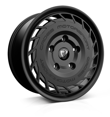 Cades Wheels Cades Motorsport (Transit) wheels 18 x 8j 5-160 | Matt Black Set of four