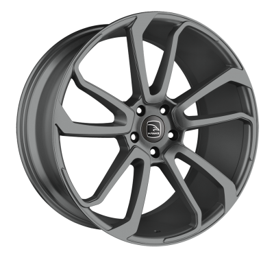 HAWKE Falkon Alloy Wheels 22 inch 5x120 (ET45) | Gunmetal x 4 | fits Range Rover Sport, Vogue and Discovery models