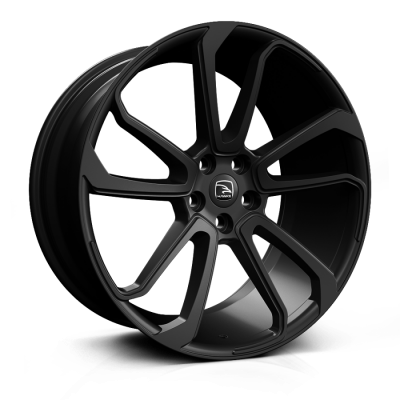 HAWKE Falkon Alloy Wheels 20 inch 5x108 (ET42) | Gloss Black x 4  | fits Velar, Evoque and Jaguar F-Pace