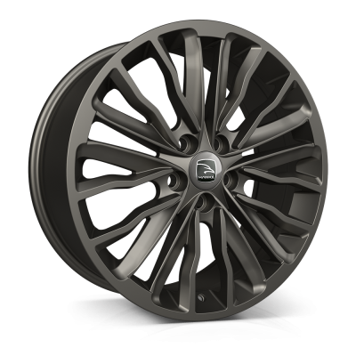 20x8.5 5x120 ET42 HAWKE Harrier Matt Gunmetal