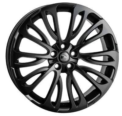 HAWKE Halcyon Alloy Wheels 23 inch 5x120 (ET38) | Black x 4 | fits Range Rover Sport, Vogue and Discovery models