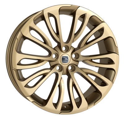 23x9.5 5x120 ET38 Hawke Halcyon Light Gold