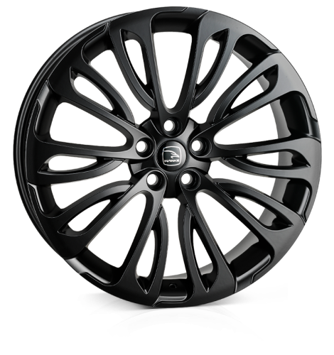 HAWKE Halcyon Alloy Wheels 22 inch 5x120 (ET40) | Black x 4 | fits Range Rover Sport, Vogue and Discovery models