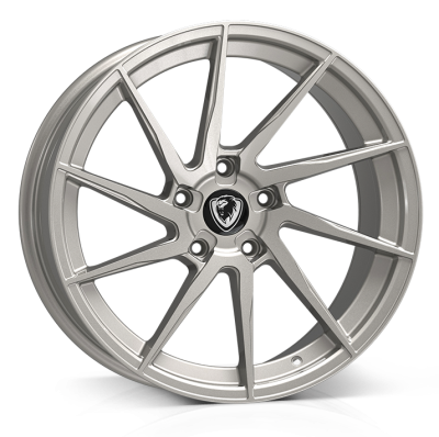 Cades Kratos Alloy Wheels 18 inch 5x120 (ET35) | High Power Silver x 4 | fits BMW models