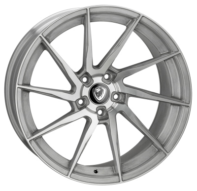 Cades Kratos Alloy Wheels 20 inch 5x120 (ET30) | Brushed Silver x 4 | fits BMW models
