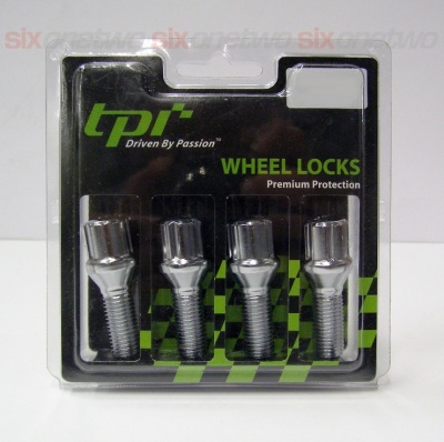 12x1.25 50mm Tapered 17/19 Hex TPi Tuner locks Bolt