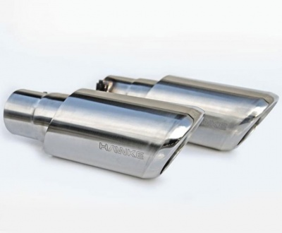 HAWKE 2010 Straight fit Exhaust Tips with Brushed shells for Range Rover Sport 2009-2013