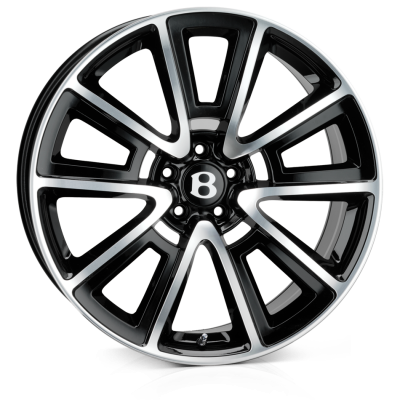 SSR SSR Alloy Wheels 20 inch 5x112 (ET30) | Black Polish x 4 | fits Bentley GT and GTC models