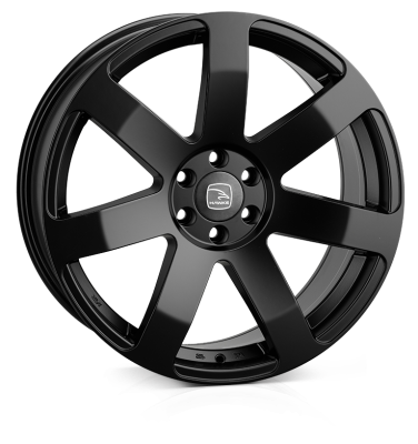 HAWKE Summit Alloy Wheels 20 inch 6x114 (ET40) | Matt Black x 4 | fits Mercedes X Class and Nissan SUVs models