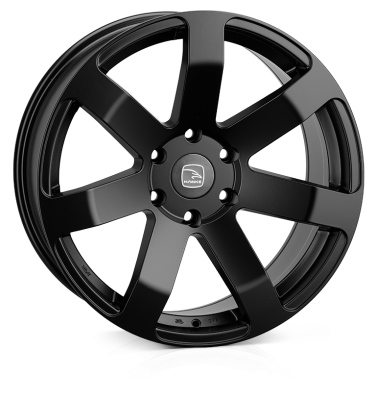 HAWKE Summit Alloy Wheels 20 inch 6x139 (ET30) | Matt Black x 4 | fits Ford Ranger, Mitsubishi L200 and Toyota Hilux models