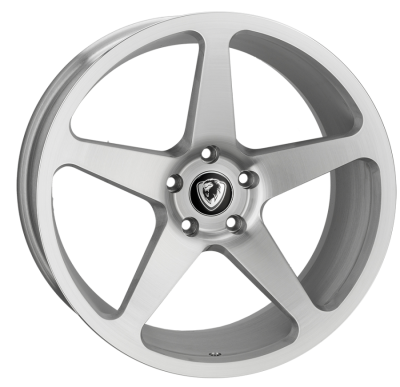 Cades Vulcan Alloy Wheels 20 inch 5x120 (ET40) | Brushed Silver x 4 | fits VW Transporter & Amarok models