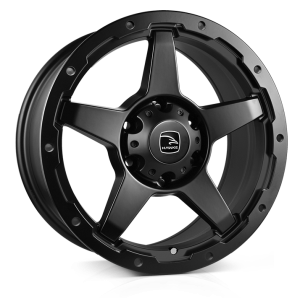 HAWKE Eiger Alloy Wheels 20 inch 6x139 (ET20) | Matt Black x 4 | fits Ford Ranger, Mitsubishi L200 and Toyota Hilux models