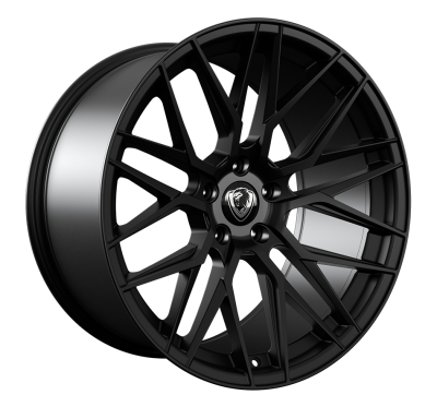 Cades Hera Alloy Wheels 20 inch 5x120 (ET38) | Matt Black x 4 | To fit VW Transporter T5 & T6