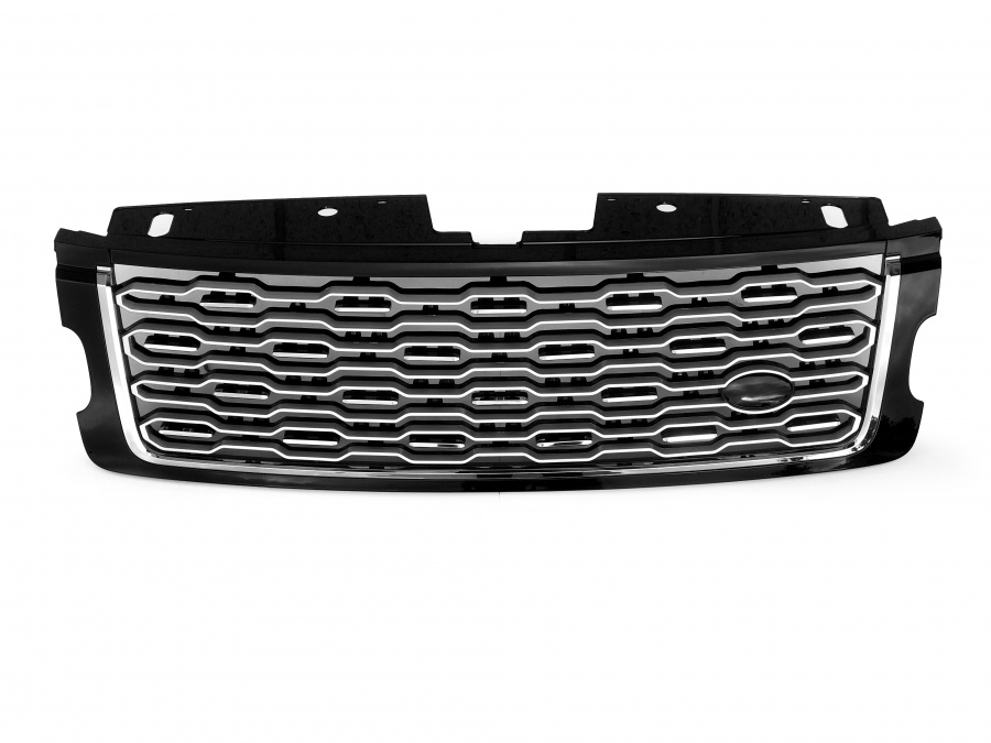 L405 SV-A SVA Look Front Grille Black with Silver mesh and Silver trim to fit Range Rover Vogue L405 2018 Onwards