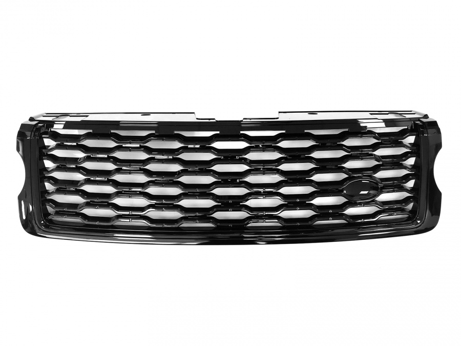 2018 Style Range Rover Vogue L405 Black/Black Front Grille (For 2014-2017 cars)