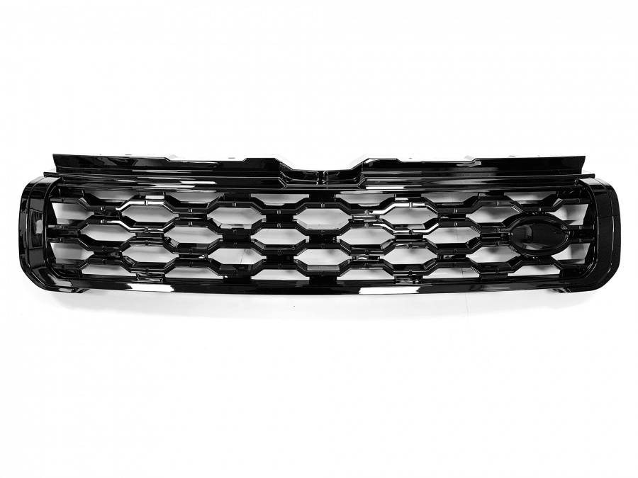 Hawke 2020 Look Front Grille Black Fits Range Rover EVOQUE L538 2011 - 2018