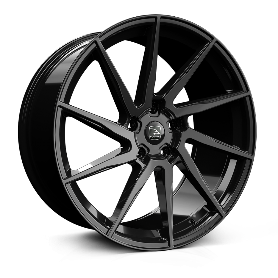 HAWKE Arion Alloy Wheels 23 inch 5x108 (ET39) | Black x 4 | fits Range Rover Velar models