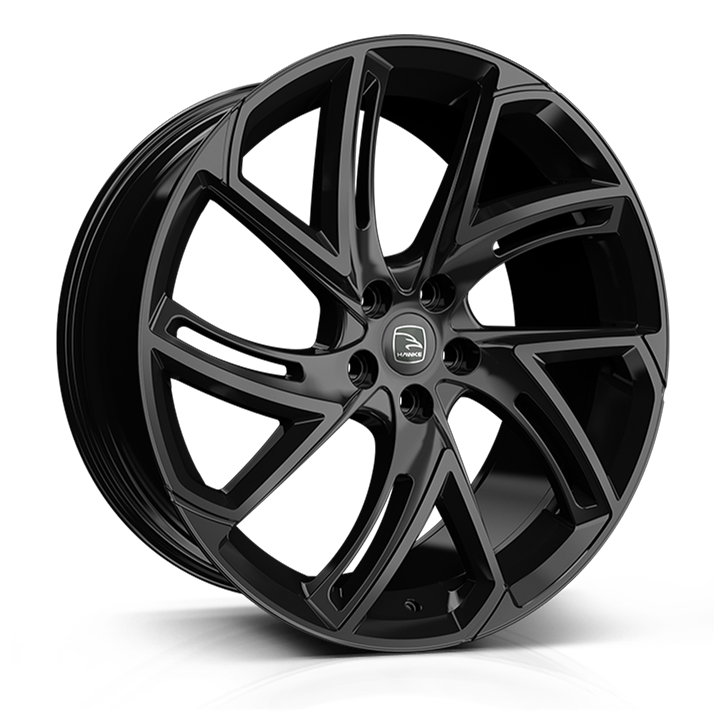 Hawke Condor wheels 22 x 9.5j 5x112 | Black Set of four | fits Bentley GT and GTC models