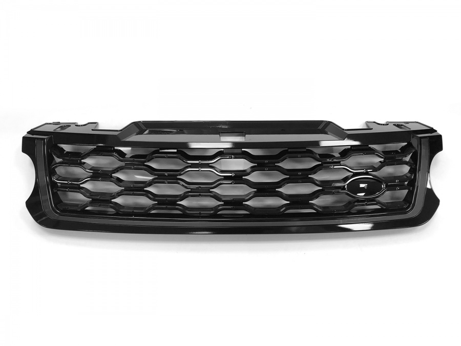2018 Style Range Rover Sport L494 Black/Black/Grey Front Grille (For 2014-2017 cars)