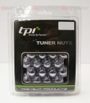 12x1.25 20D 33L TPi SD (Tuner) Nutz Steel Chrome 20 Pack with Locks