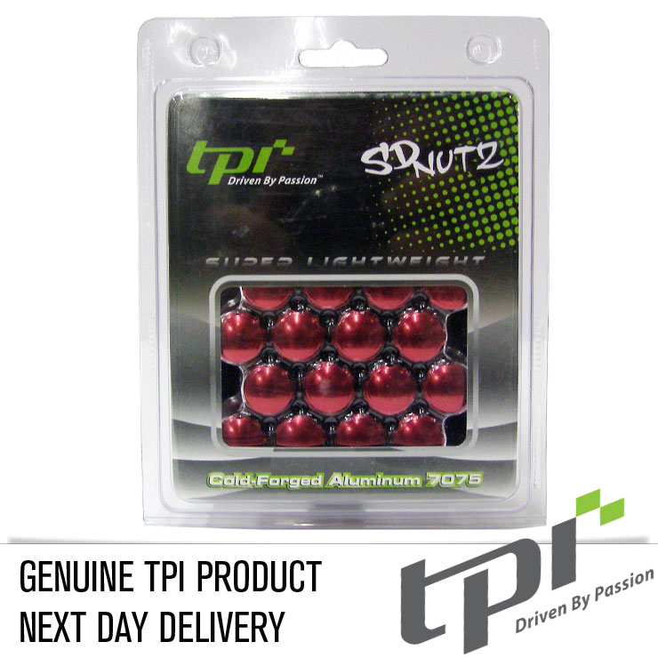 12x1.50 20D 33L TPi SD (Tuner) Aluminium Red 20 Pack with Key