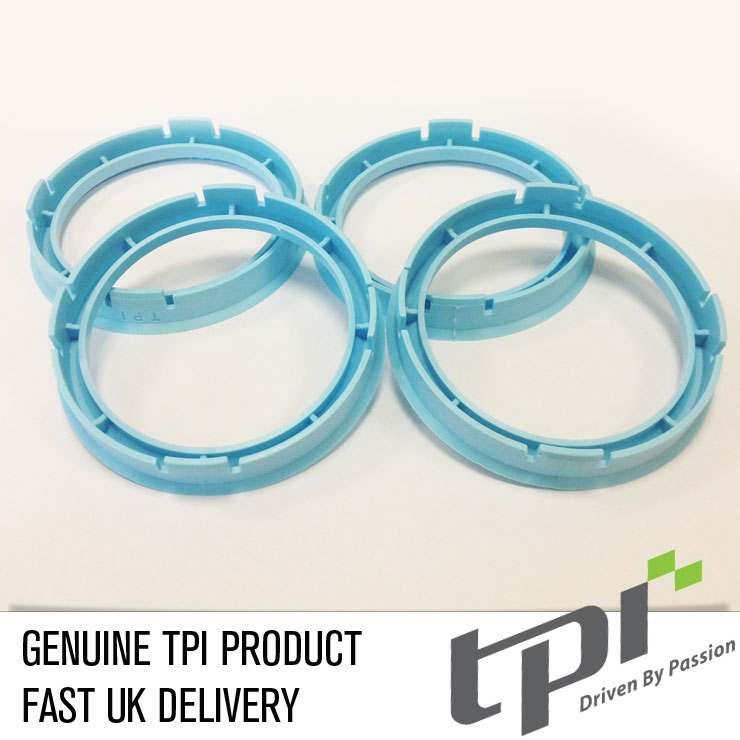 (Single) Spigot Ring 73.0 - 60.1 TPi Process Blue
