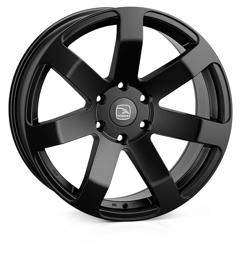 HAWKE Summit XC Alloy Wheels 20 inch 6x139 (ET10) | Matt Black x 4 (COMPATIBLE FOR WIDE ARCH MODELS) | fits Ford Ranger, Mitsubishi L200 and Toyota Hilux models