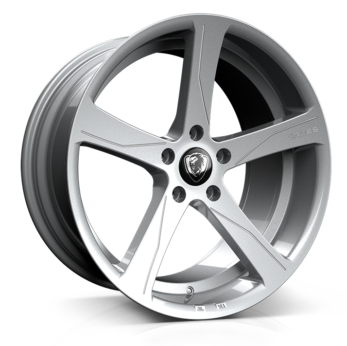 Cades Apollo Alloy Wheels 19 inch 5x112 (ET40) | Silver RC Edition x 4 | fits VW, Audi and Mercedes models