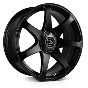 HAWKE Peak Alloy Wheels 20 inch 6x139 (ET30) | Matt Black x 4 | fits Ford Ranger, Mitsubishi L200 and Toyota Hilux models
