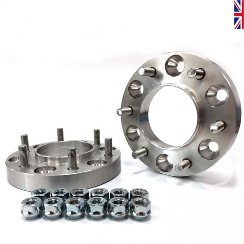 6-139 25mm Hub Centric Wheel Spacers to fit Ford Ranger (1 Pair)