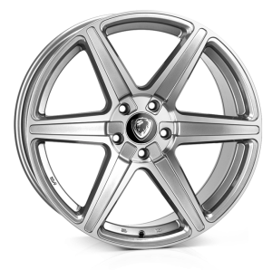 Cades Thor Alloy Wheels 19 inch 5x112 (ET45) | Silver Polish x 4 | fits VW, Audi and Mercedes models