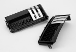 AUTOBIOGRAPHY Style Side Vents Black with Black mesh & Chrome Trim for Range Rover Vogue 2002-2013 - CLEARANCE WHILE STOCKS LAST!