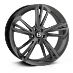 Hawke Aquila wheels 22 x 9.5j 5x112 | Matt Gunmetal Set of four | fits Bentley GT/ GTC and Flying Spur