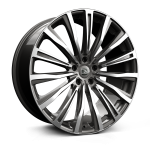 Hawke Chayton wheels 20 x 8.5j 5-120 | Gunmetal Polished Set of four | fits Range Rover Velar & Evoque