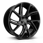 Hawke Condor wheels 22 x 9.5j 5x108 | Black Stealth Set of four | fits Range Rover Evoque, Velar and Discovery Sport models